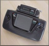 SEGA GameGear with TV-Tuner